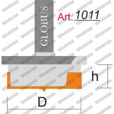 Фреза ГЛОБУС 1011 stopper для дверных петель D60 h18 d12