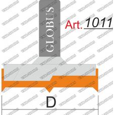 Фреза ГЛОБУС 1011 для дверных петель D15 h18 d8