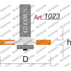 Фреза ГЛОБУС 1023 кромочная фальцевая D33 h12 L35 d8