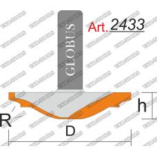 Фреза ГЛОБУС 2433 фигирейная горизонтальная D40 h10 d8