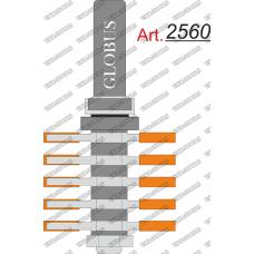Фреза ГЛОБУС 2560 кромочная микрошиповая Z3 D48 h40 d12
