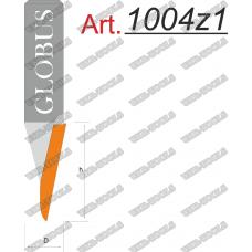 Фреза ГЛОБУС 1004z1 пазовая V-образная D11 d8 h20 o30