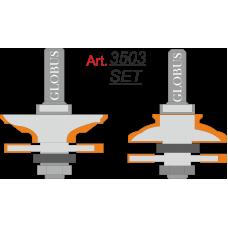 Фреза ГЛОБУС 3503 Set комбинированная рамочная D46 d8 h24