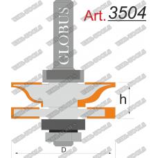 Фреза ГЛОБУС 3504 комбинированная рамочная D42 d8 h20