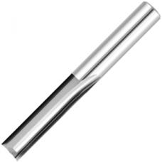 Фреза D16L80/40 (2-х перая прям.торец) прямая